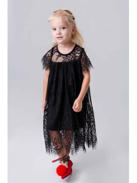 Платье кружевное с подъюбником JO JO