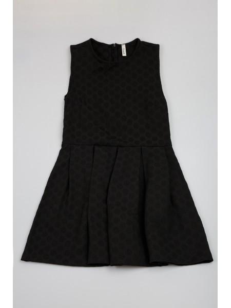 Платье с кружочками жаккард Souvenir