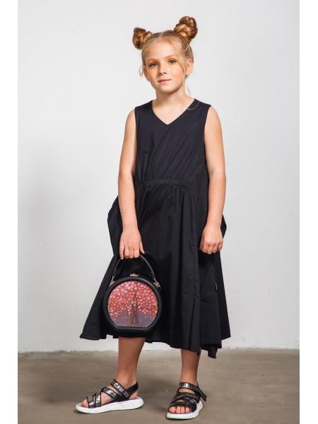 Платье с драпировкой на поясе  JO JO