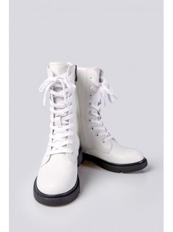 Ботинки высокие на шнуровке Fashion Dog