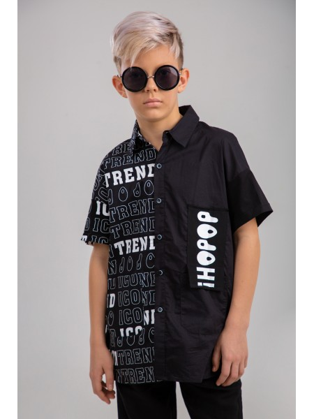 Рубашка  с принтом JOJO