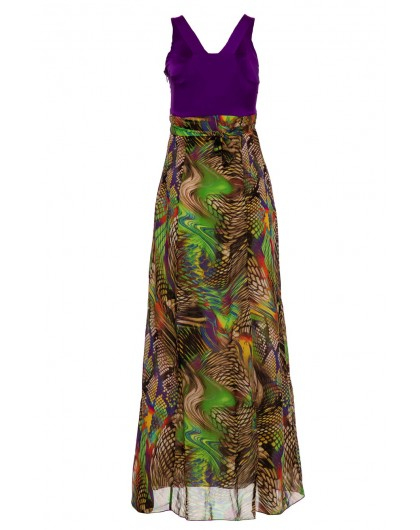 Платье с бисером BOVONA