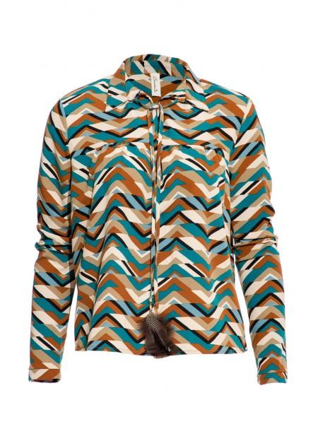 Блуза с перышками Souvenir