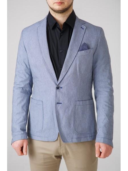 Пиджак голубой с синим платком Xagon Man