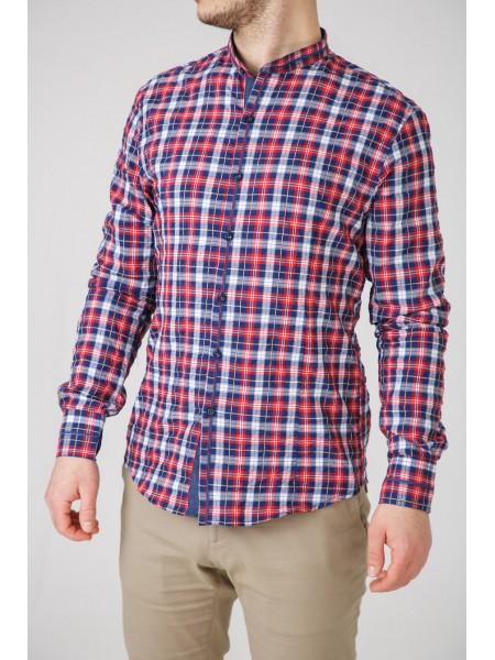 Рубашка клетчатая с воротом-стойка Xagon Man