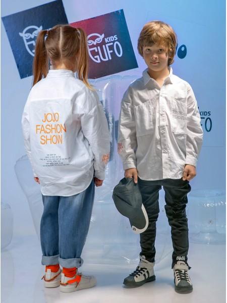 Рубашка с принтом FASHION SHOW JO JO