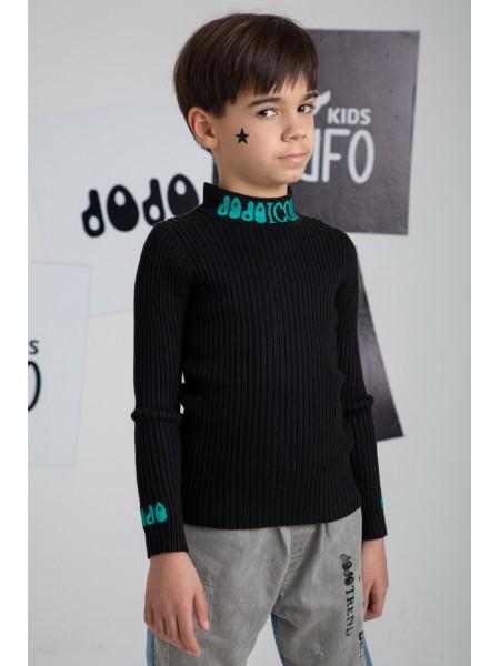 Гольф-свитер с вышивкой ICON JO JO