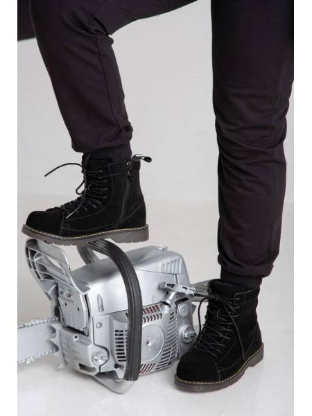 Ботинки замшевые на меху JO JO