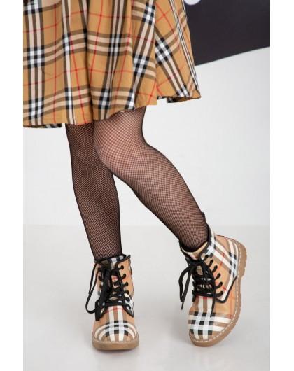 Ботинки с принтом Burberry JO JO