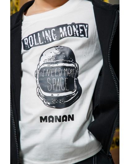 """Свитшот с принтом """"Шлем космонавта"""" Manan"""