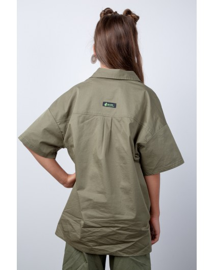 Рубашка в стиле милитари JoJo