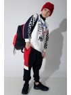 Штаны на завязках, с яркими вставками Manan