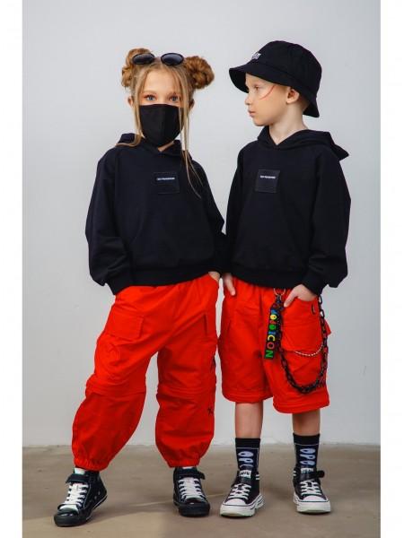 Штаны-шорты джоггеры  с отстегивающимися штанинами JOJO