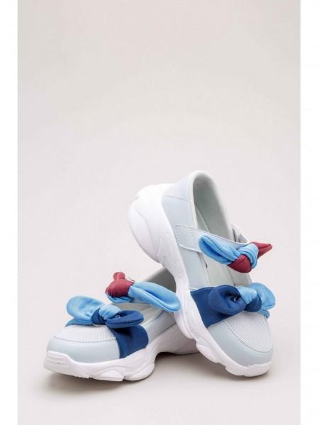 Кроссовки – босоножки с разноцветными бантиками FASHION DOG