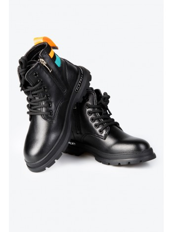 Ботинки с разноцветной вставкой JO JO