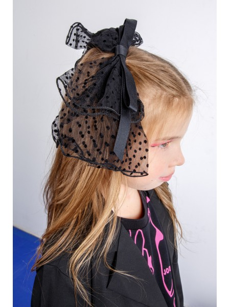 Заколка для волос - фатиновый бант JO JO