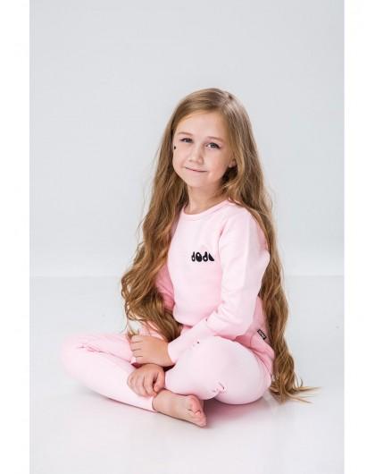 Пижама с брендовым принтом JO JO