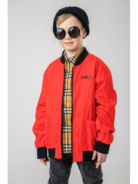 Куртка-бомбер двухсторонняя в стиле Burberry JOJO