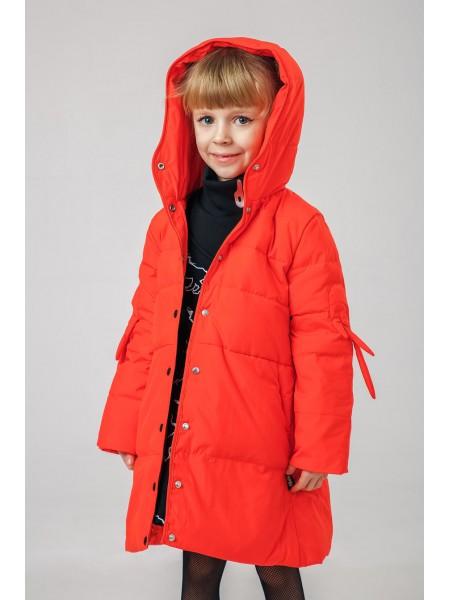 Пуховик-куртка с крылышками на рукавах JO JO