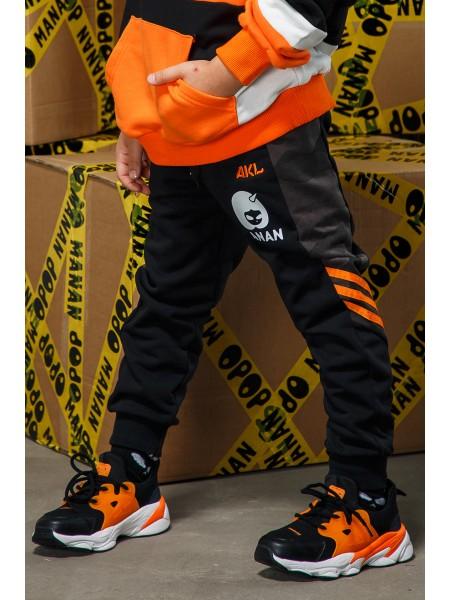 Кроссовки с цветными вставками для шнуровки Fashion Dog