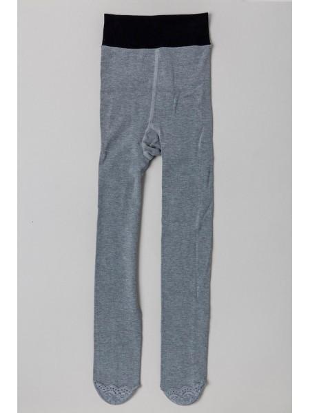 Колготы с кружевными носочками GUFO