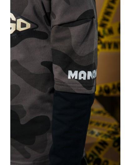 Свитшот с капюшоном и принтом LETSGO Manan