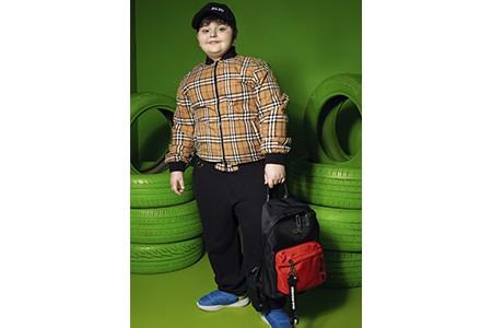Одежда GUFO KIDS в фотосъемке Al Models
