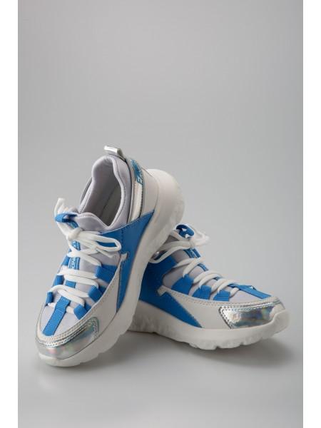 Кроссовки с серебристым носком Fashion Dog