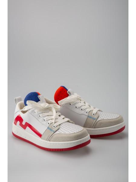 Кроссовки с красно-синим язычком Fashion Dog