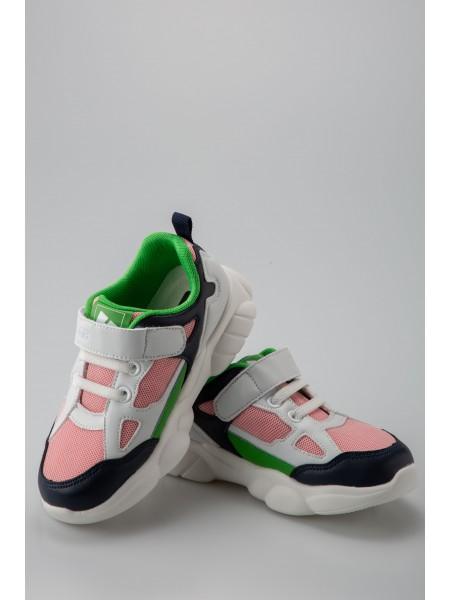 Кроссовки с розовыми вставками Fashion Dog