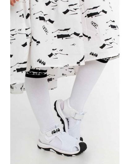 Босоножки с сетчатой вставкой и закрытым носком JoJo