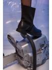 Ботинки стрейчевые с кожаным носком JO JO