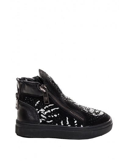 Ботинки со стразами Manan