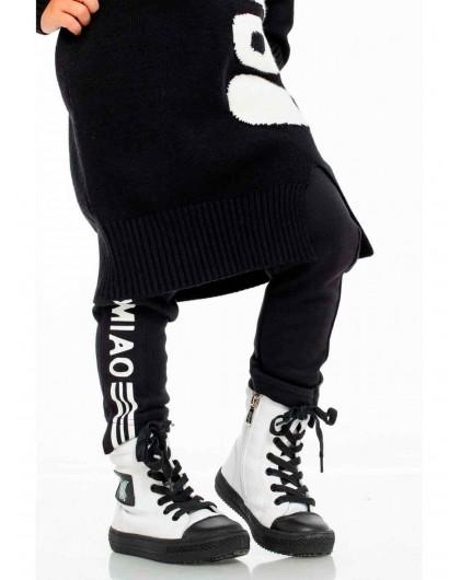 Кеды со шнуровкой и молнией JoJo