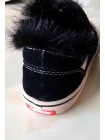 Кроссовки на меху из натуральной норки Gufo