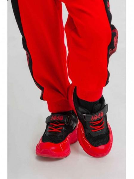 Кроссовки детские с красной подошвой JO JO