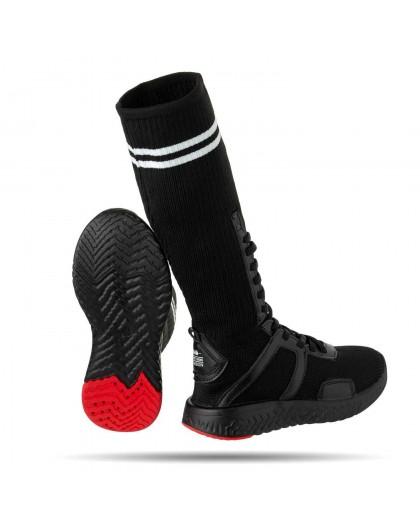 Кроссовки высокие со шнуровкой JoJo