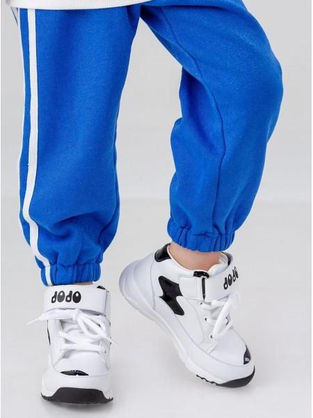 Кроссовки завышенные на липучке JO JO
