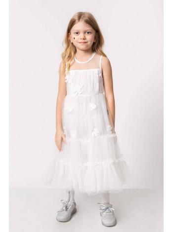 Платье фатиновое многослойное JO JO