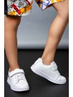 Кеды на шнуровке - резинке с липучкой JO JO