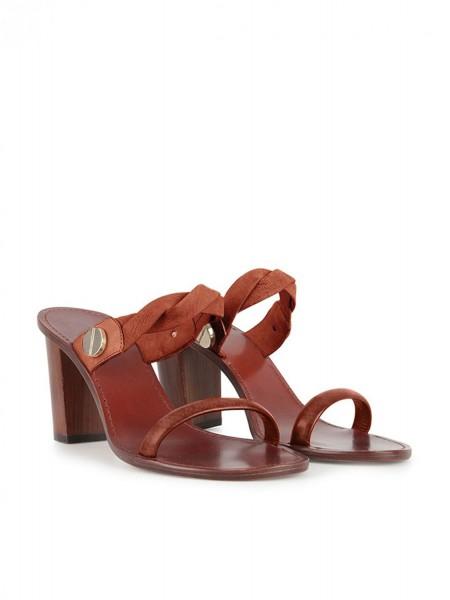 Босоножки на каблуке INTROPIA
