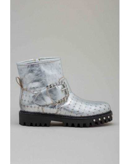 Ботинки с пряжкой PIANURA STUDIO