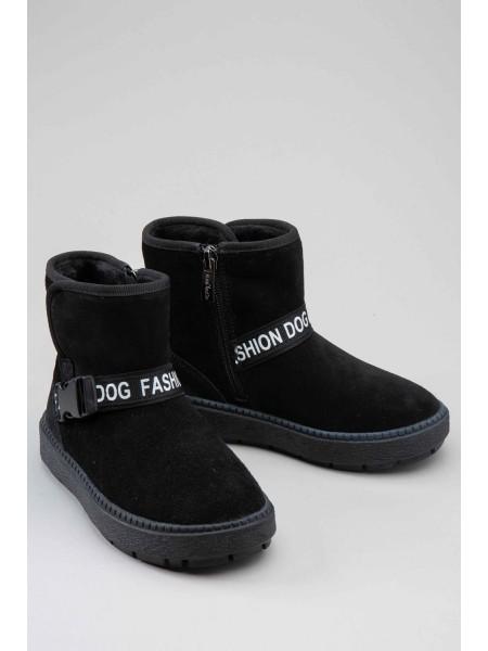 Угги классические с брендовой вставкой FASHION DOG Gufo