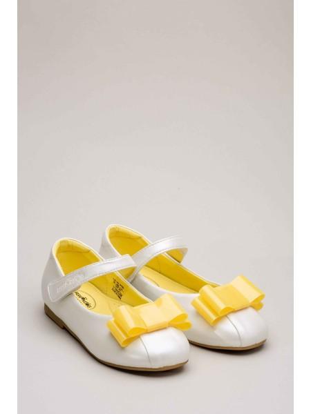 Балетки с желтым бантиком FASHION DOG