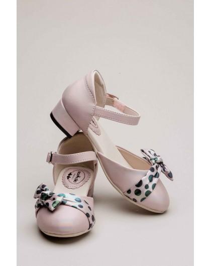 Туфли с бантиком в горошек FASHION DOG