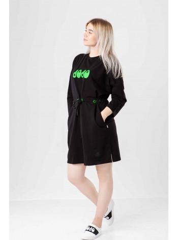Платье-туника JO JO с брендовым логотипом